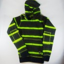 Sudadera Fallen Cobra Striped green S