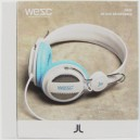 Auriculares WeSC Oboe white