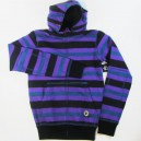 Sudadera Fallen Cobra Striped purple S