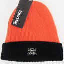 Gorro Fourstar Two Tone Pirate orange/black