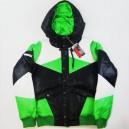 Cazadora Nikita Alma Down black/classic green/black S