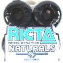 Ruedas Ricta Naturals black 53mm