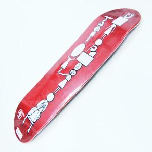 Tabla Girl Carroll red 8.5''
