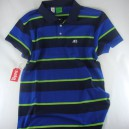 Polo Enjoi Strolo striped blue talla S