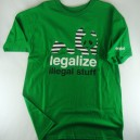 Camiseta Enjoi Legalize kelly green